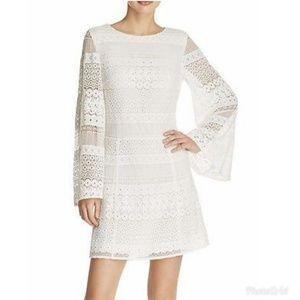 Rebecca Minkoff White Lace Grin Dress